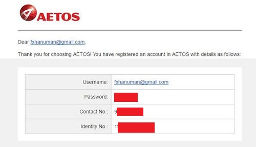 Aetos forex review